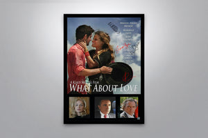 What About Love - Signed Poster + COA
