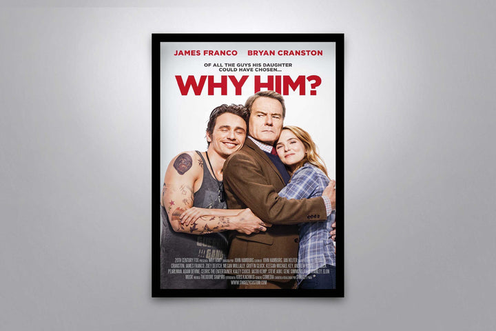 Why Him? - Signed Poster + COA