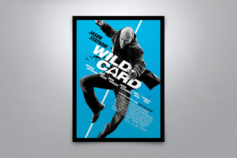 Wild Card - Signed Poster + COA