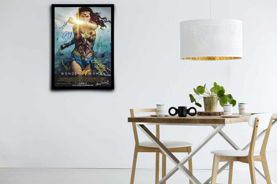 WONDER WOMAN - Signed Poster + COA