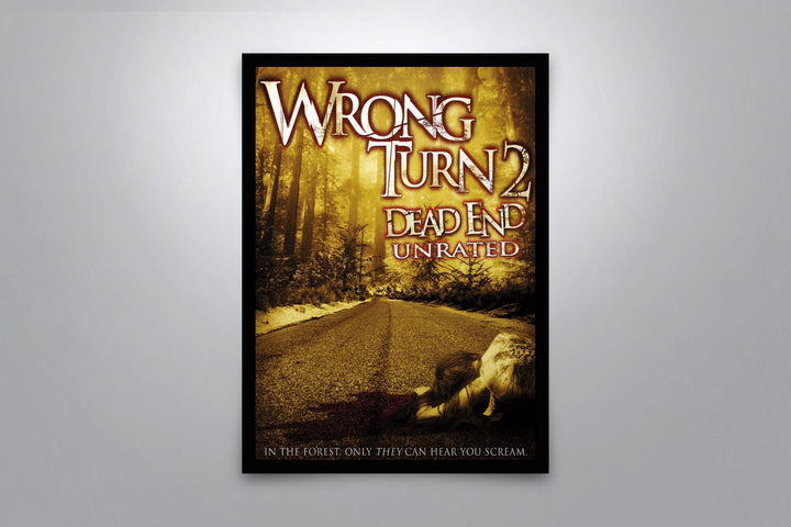 Wrong Turn 2: Dead End - Signed Poster + COA