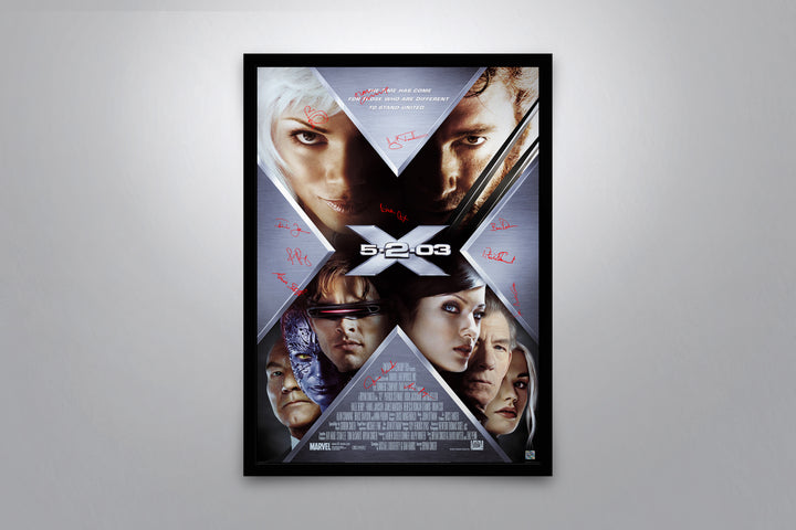 X2: X-Men United - Signed Poster + COA