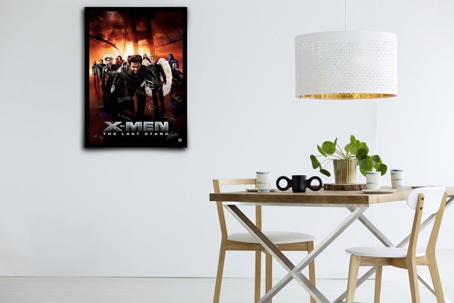 X-MEN: The Last Stand -Signed Poster + COA
