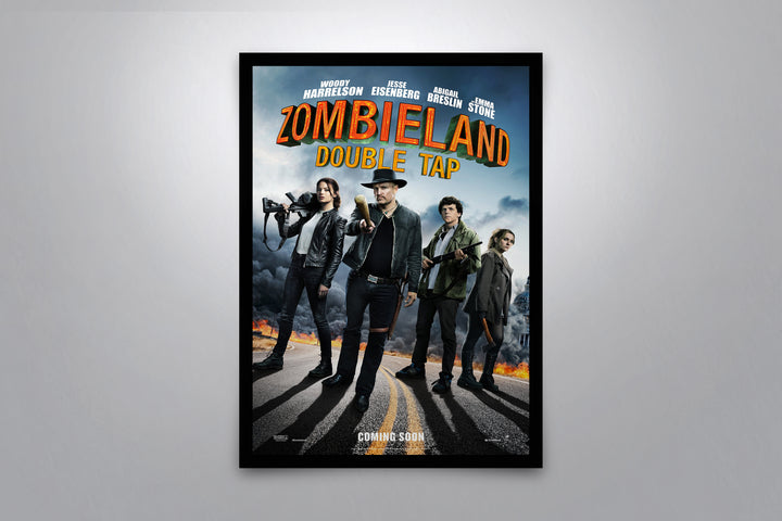 Zombieland: Double Tap - Signed Poster + COA