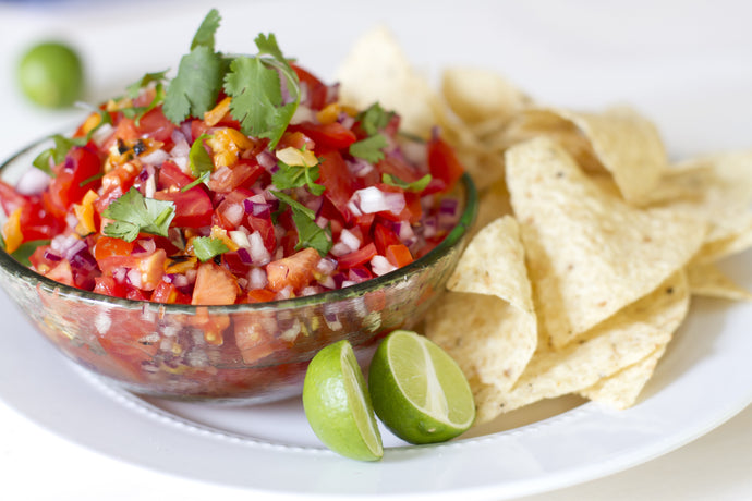 Salsa Fresca with Chipotle and Lime
