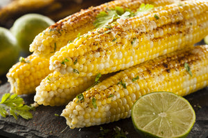 Spicy Grilled Corn on the Cob with Urfa Biber - Lime Butter exudes a smoke and lime flavor explosion that you must experience to believe.