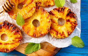 Honey Chipotle Grilled Pineapple