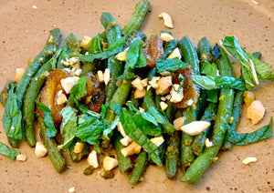 Israeli Haricots Verts with Ras el Hanout
