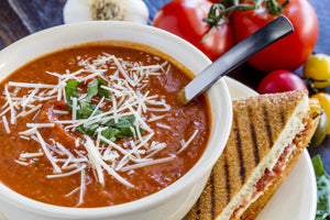 Smoky Spiced Tomato Soup with Turmeric