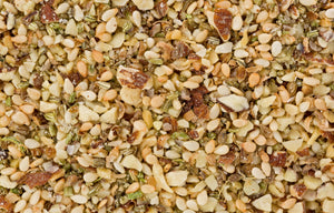 Dukkah Nut and Spice Seasoning is an Egyptian spice blend that exudes a nose that is immediate and rich, with woodsy and herbal aromatics quickly followed by a lingering hazelnut note. Our Dukkah is delicious! Discounted flat shipping rates.