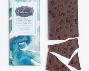 Cocoa Nib + Coffee Bean Chocolate Bar
