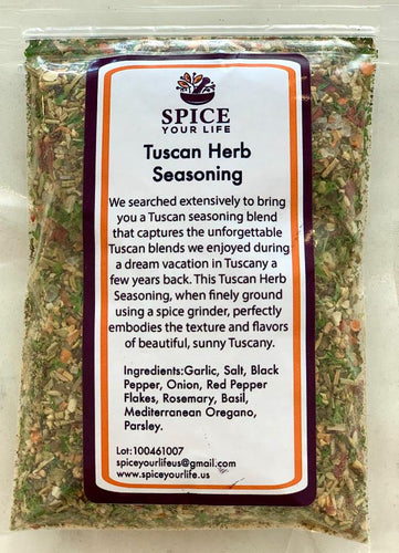 Tuscan Herb Seasoning 1/2 cup (soft pack)