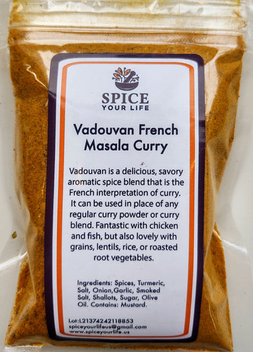 Vadouvan French Masala Curry 1/2 cup (soft pack)