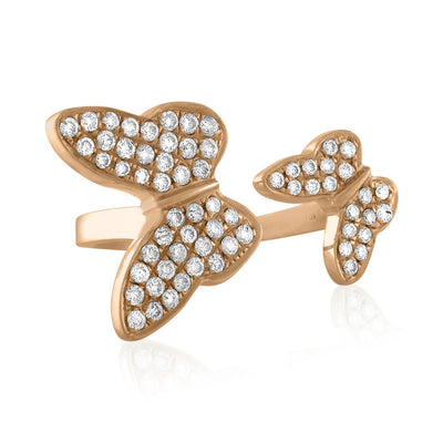 Vincents Fine Jewelry | Jane Kaye | Butterfly Pinky Ring