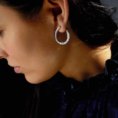 Vincents Fine Jewelry | Jane Kaye | Illusion Loop Earrings