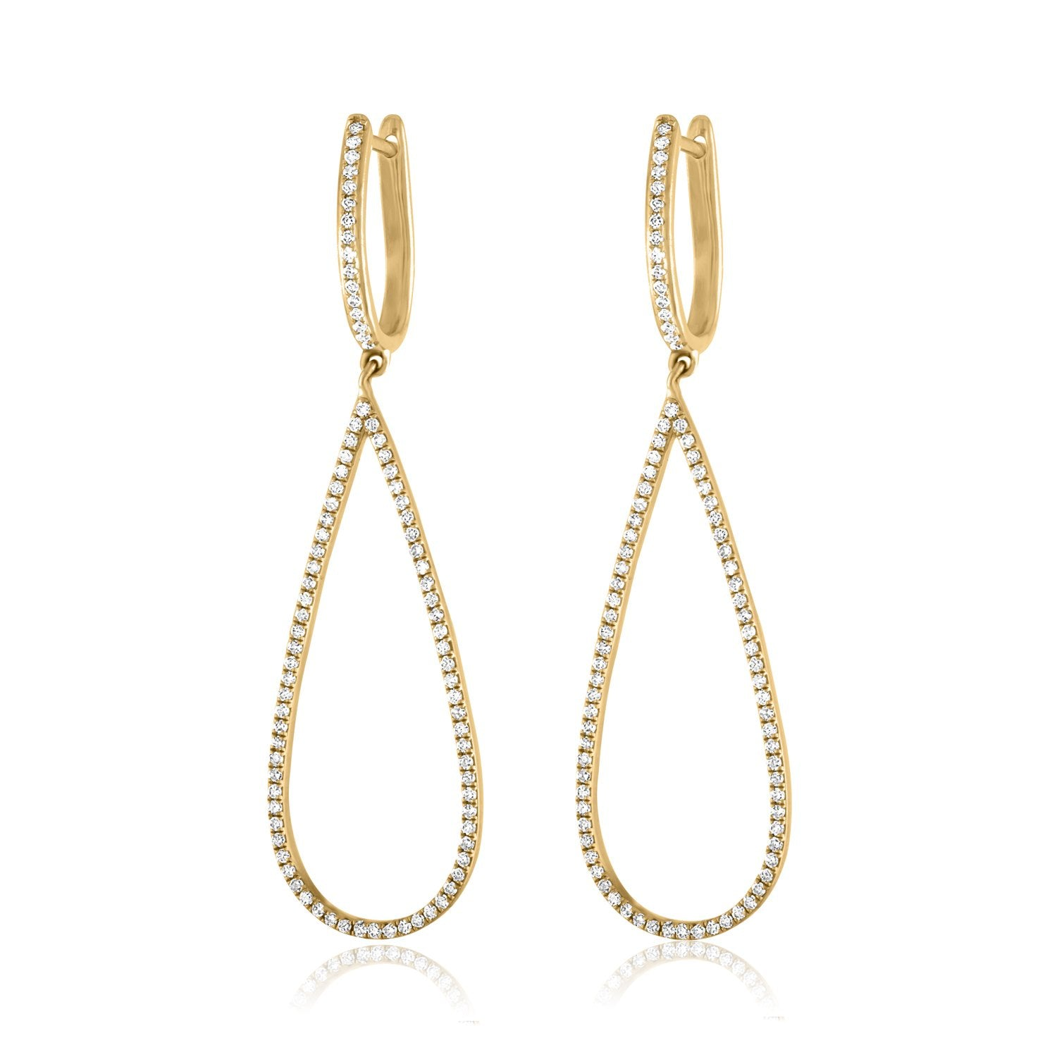 Vincents Fine Jewelry | Jane Kaye | Open Drop Pear Earrings