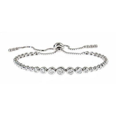 Jane Kaye | Tassel Tennis Graduating Bracelet Large