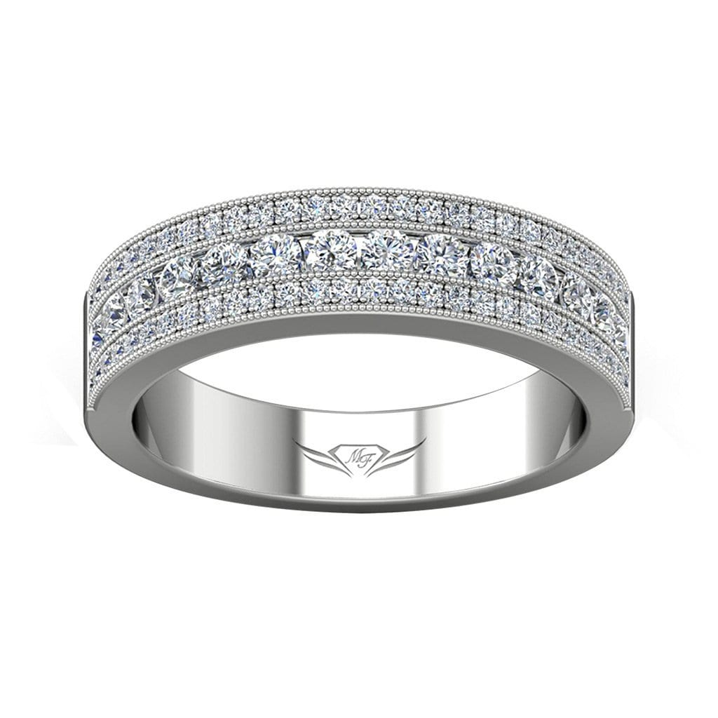 Vincents Fine Jewelry | Martin Flyer | Channel Matching Wedding Band