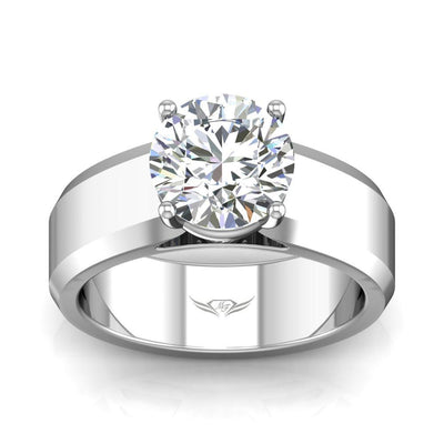 Vincents Fine Jewelry | Martin Flyer | Solitaire Wide Remount