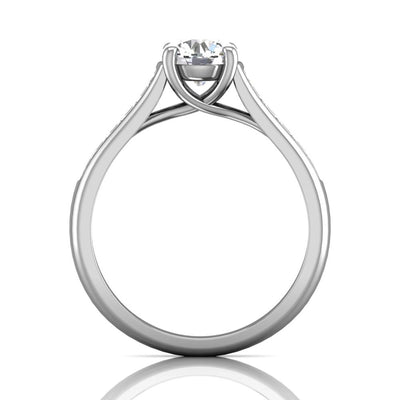 Vincents Fine Jewelry | Martin Flyer | Channel Engagement Ring