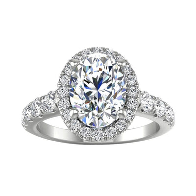 Vincents Fine Jewelry | Martin Flyer | Non Brand Cutdown Micropave Engagement Ring