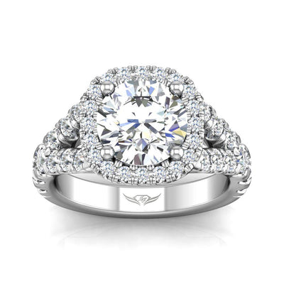Vincents Fine Jewelry | Martin Flyer | Cutdown Micropave Halo Remount