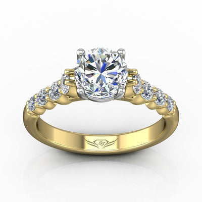 Vincents Fine Jewelry | Martin Flyer | Shared Prong Engagement Ring