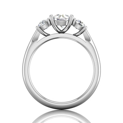 Vincents Fine Jewelry | Martin Flyer | Three Stone Engagement Ring