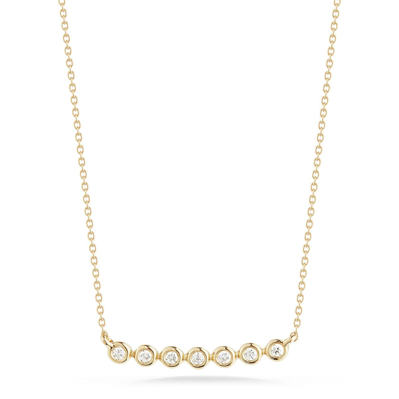 Vincents Fine Jewelry | Dana Rebecca | Lulu Jack Bezel Bar Necklace