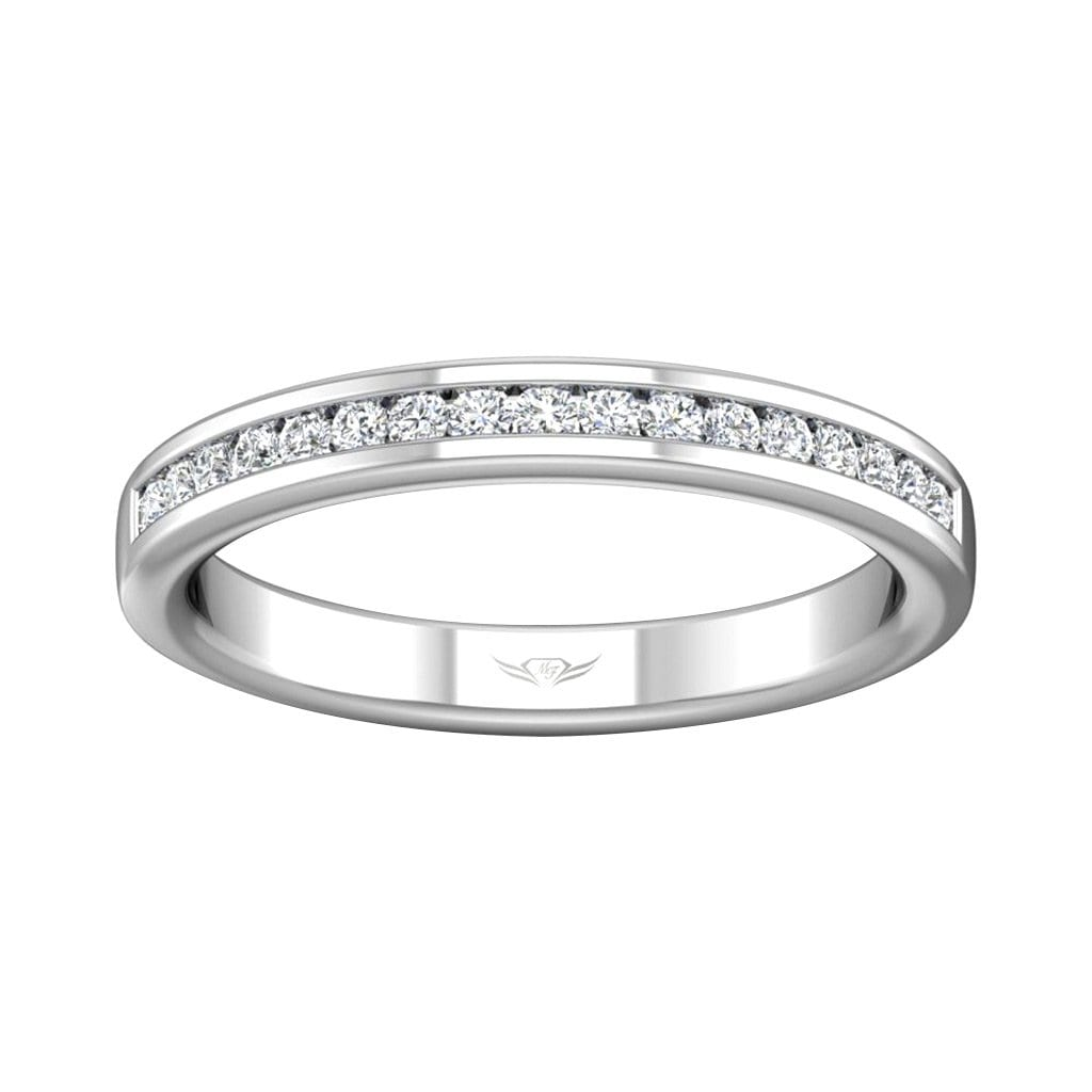 Vincents Fine Jewelry | Martin Flyer | Channel Wedding Band