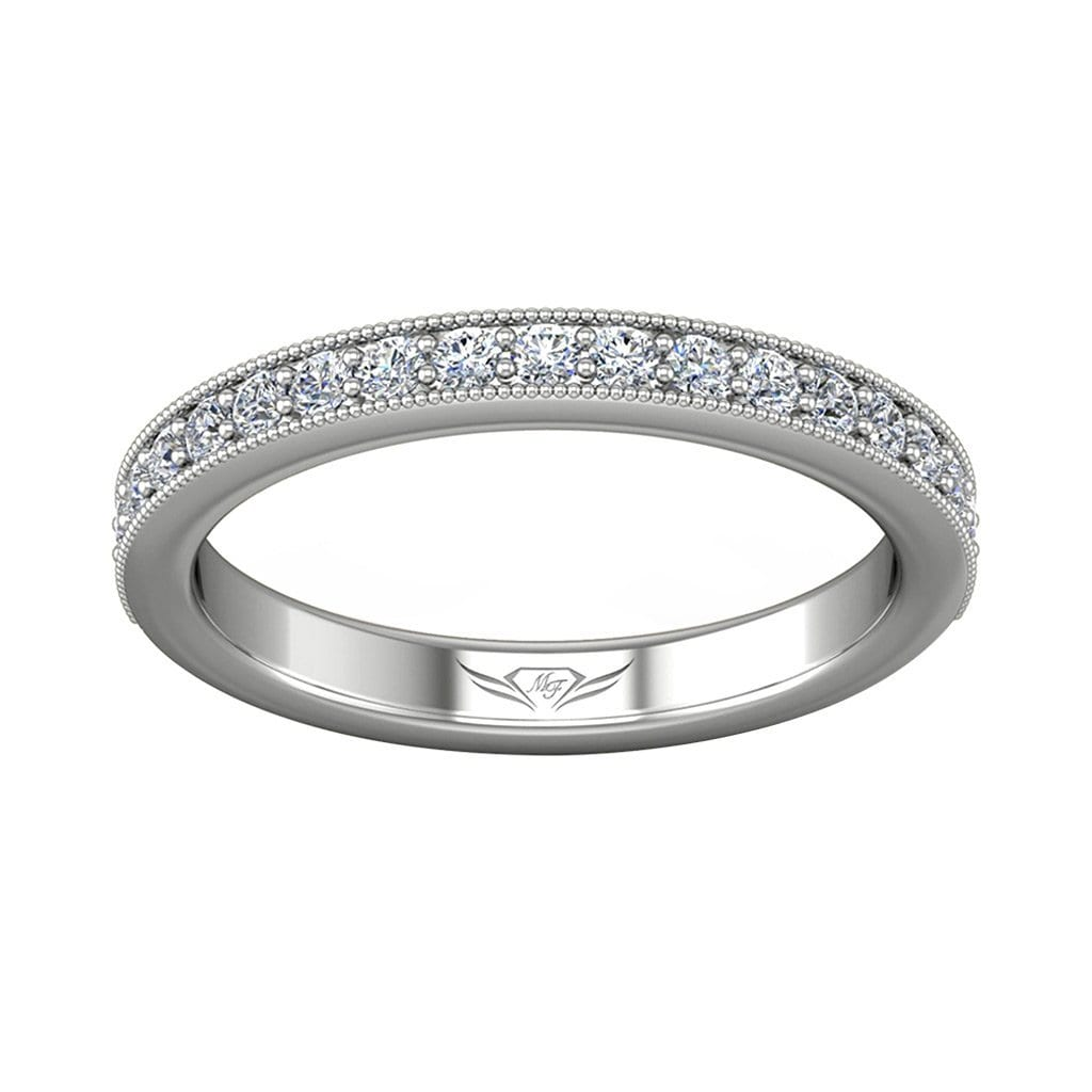 Vincents Fine Jewelry | Martin Flyer | Bead Set Micropave Bead Set Wedding Band