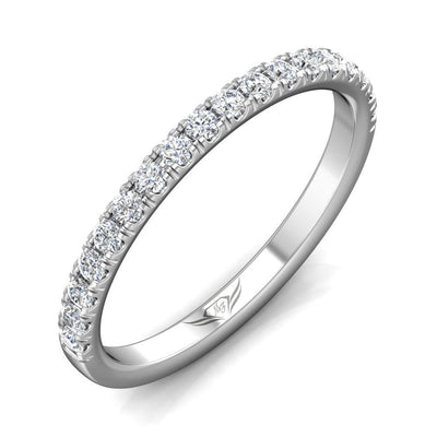 Vincents Fine Jewelry | Martin Flyer | Cutdown Micropave Matching Wedding Band