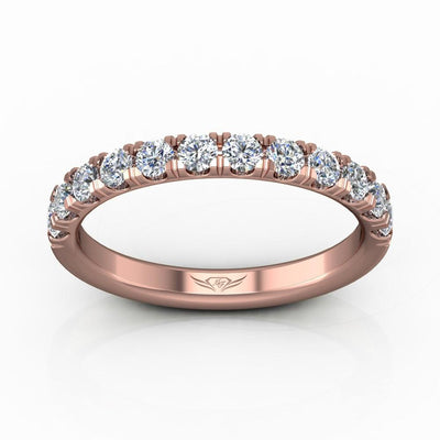 Vincents Fine Jewelry | Martin Flyer | Cutdown Micropave Wedding Band