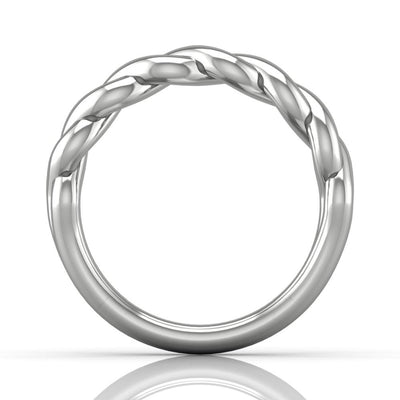Vincents Fine Jewelry | Martin Flyer | Solitaire Matching Wedding Band