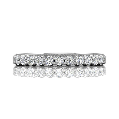 Vincents Fine Jewelry | Martin Flyer | Shared Prong Matching Wedding Band