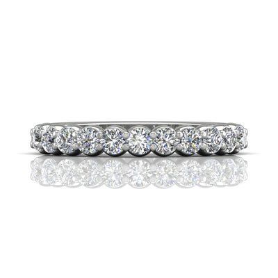 Vincents Fine Jewelry | Martin Flyer | Shared Prong Wedding Band