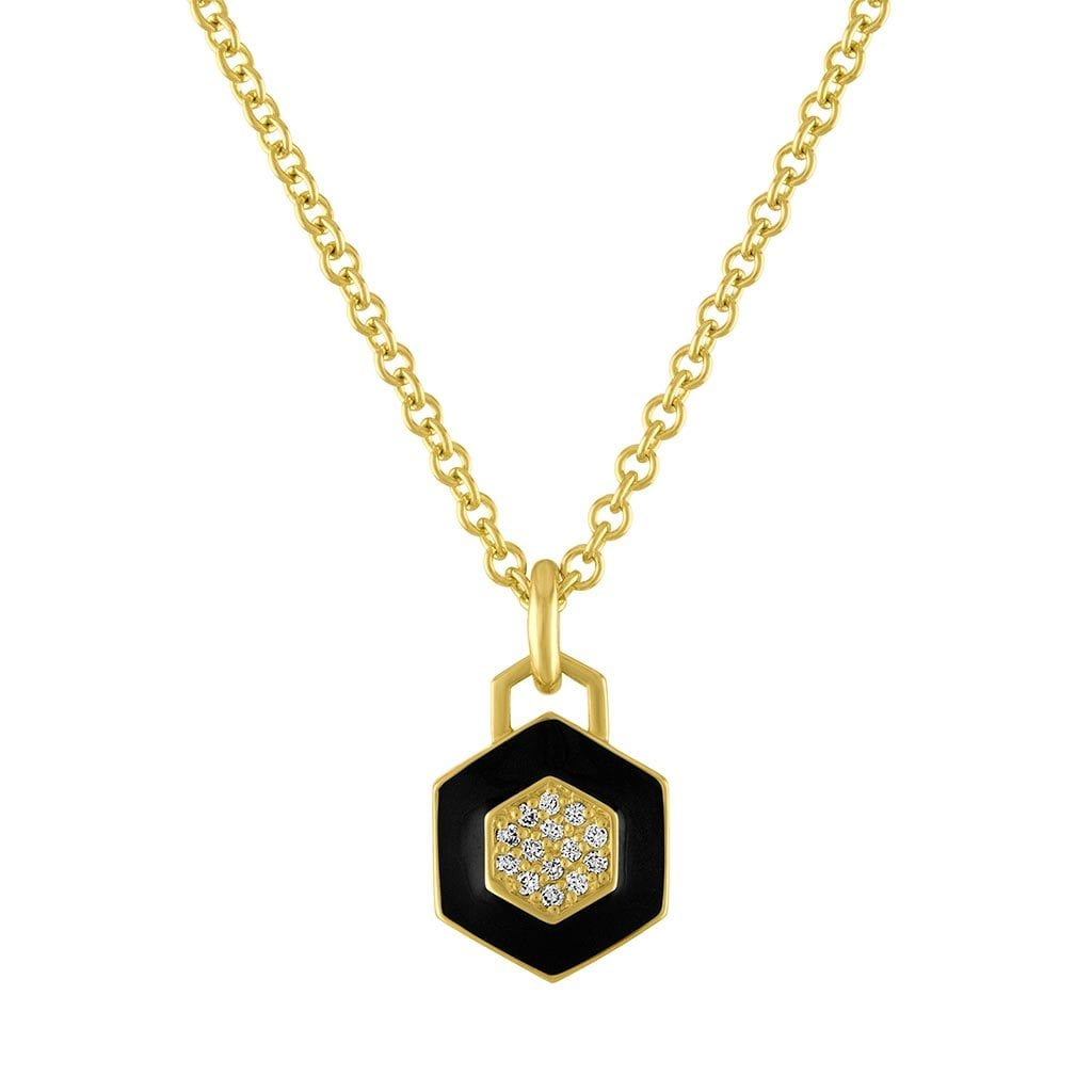 Vincents Fine Jewelry | Amy Glaswand | Deco Pop Enamel Pendant Necklace