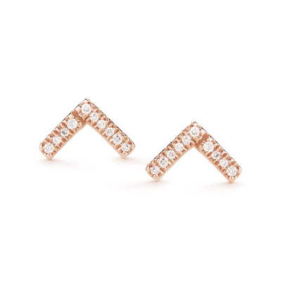 Vincents Fine Jewelry | Dana Rebecca | Sylvia Rose V Studs