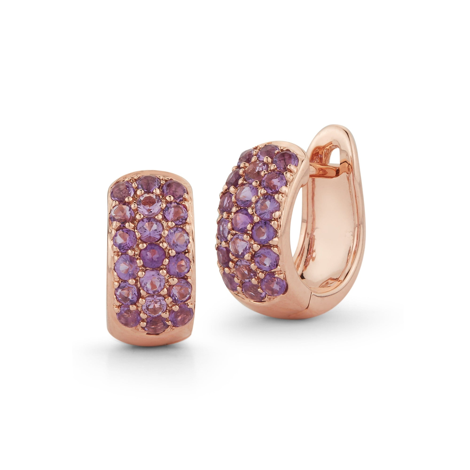 Vincents Fine Jewelry | Dana Rebecca | DRD Amethyst Huggies