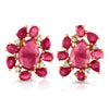 Vincents Fine Jewelry | Jane Kaye | Mixed Media Ruby Studs