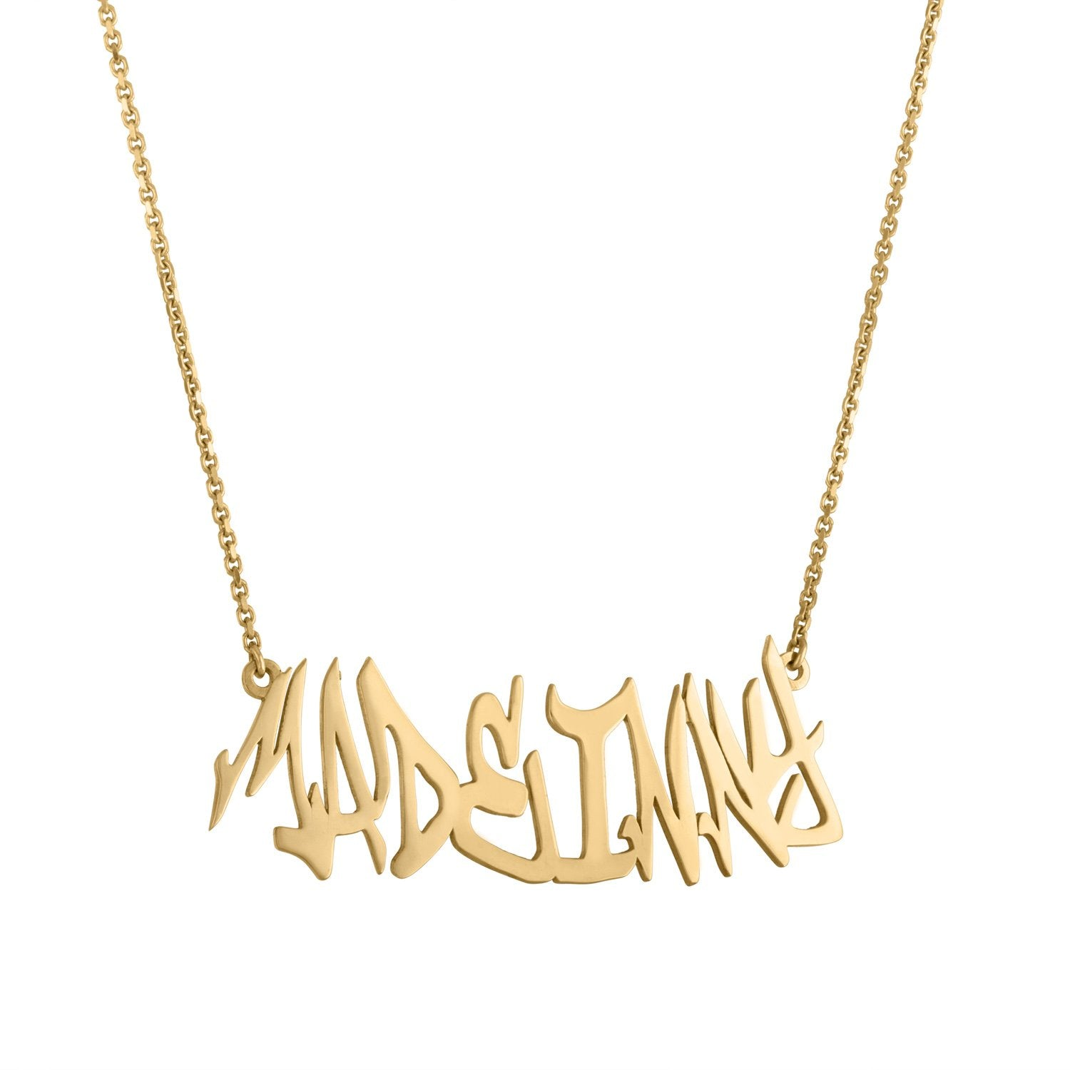 Vincents Fine Jewelry | Jane Kaye | Custom Graffiti Necklace