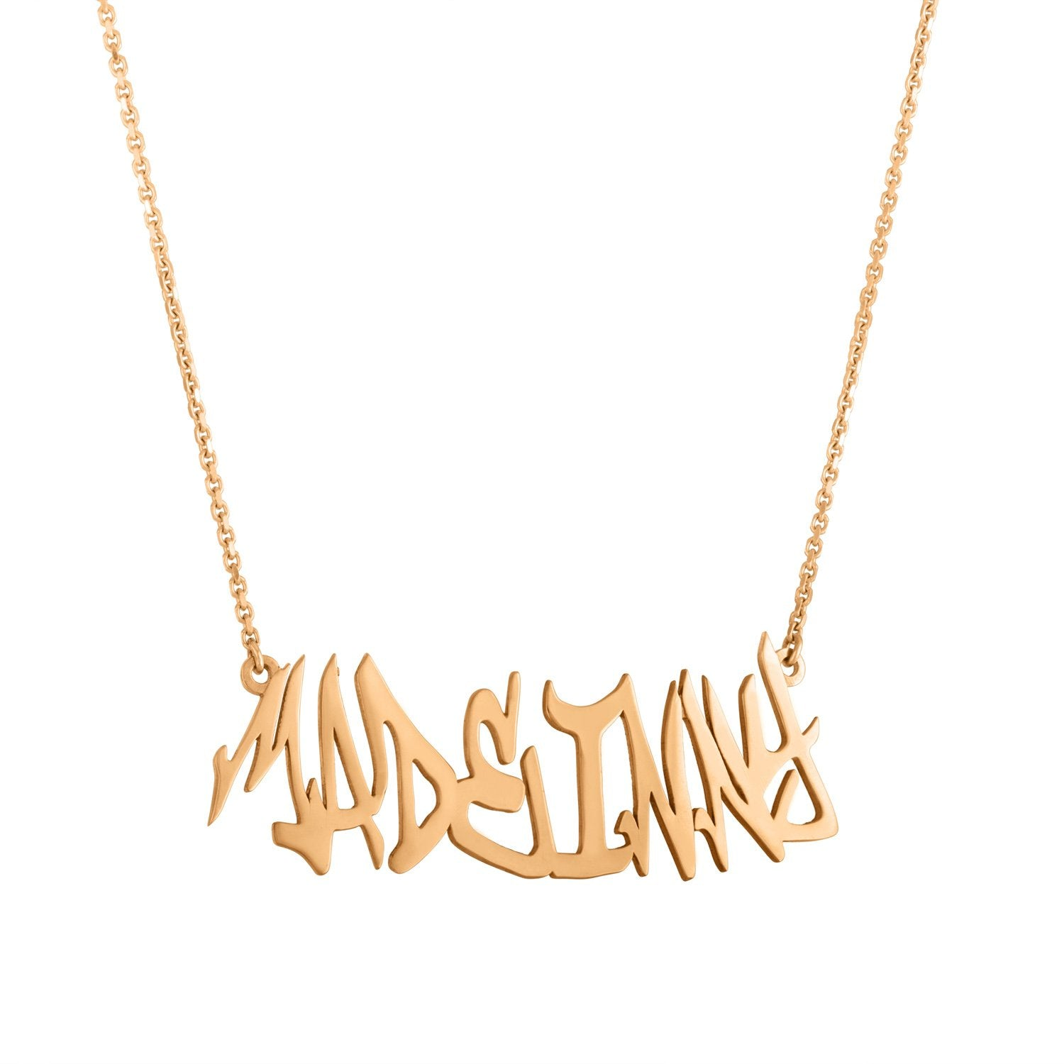Graffiti Necklace