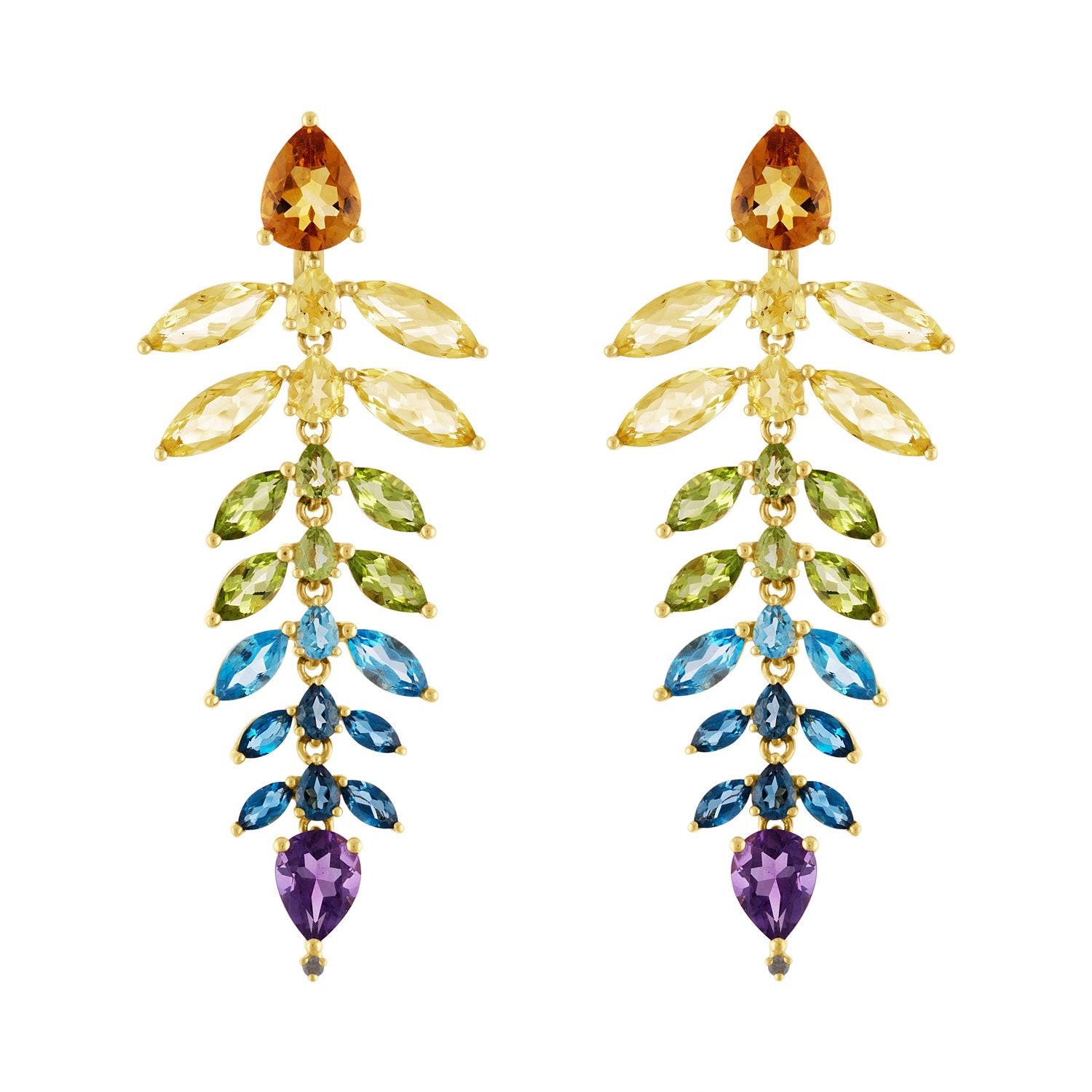Vincents Fine Jewelry | Jane Kaye | Rainbow Chandelier Earrings