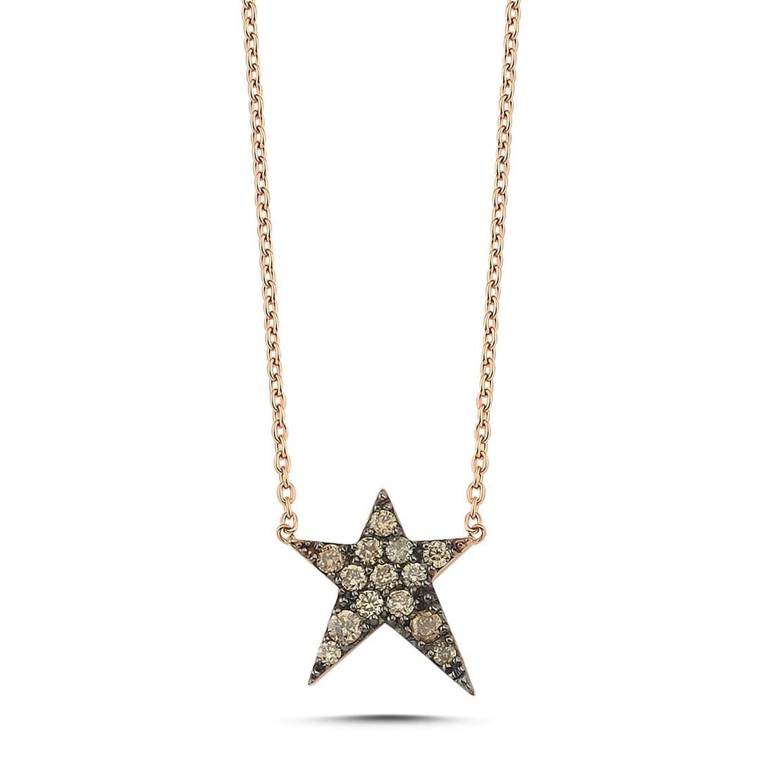 Vincents Fine Jewelry | Cognac Rockstar Necklace | Own Your Story