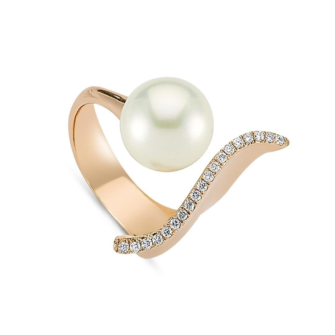 Vincents Fine Jewelry | Fluidity Pearl Ring | Own Your Story