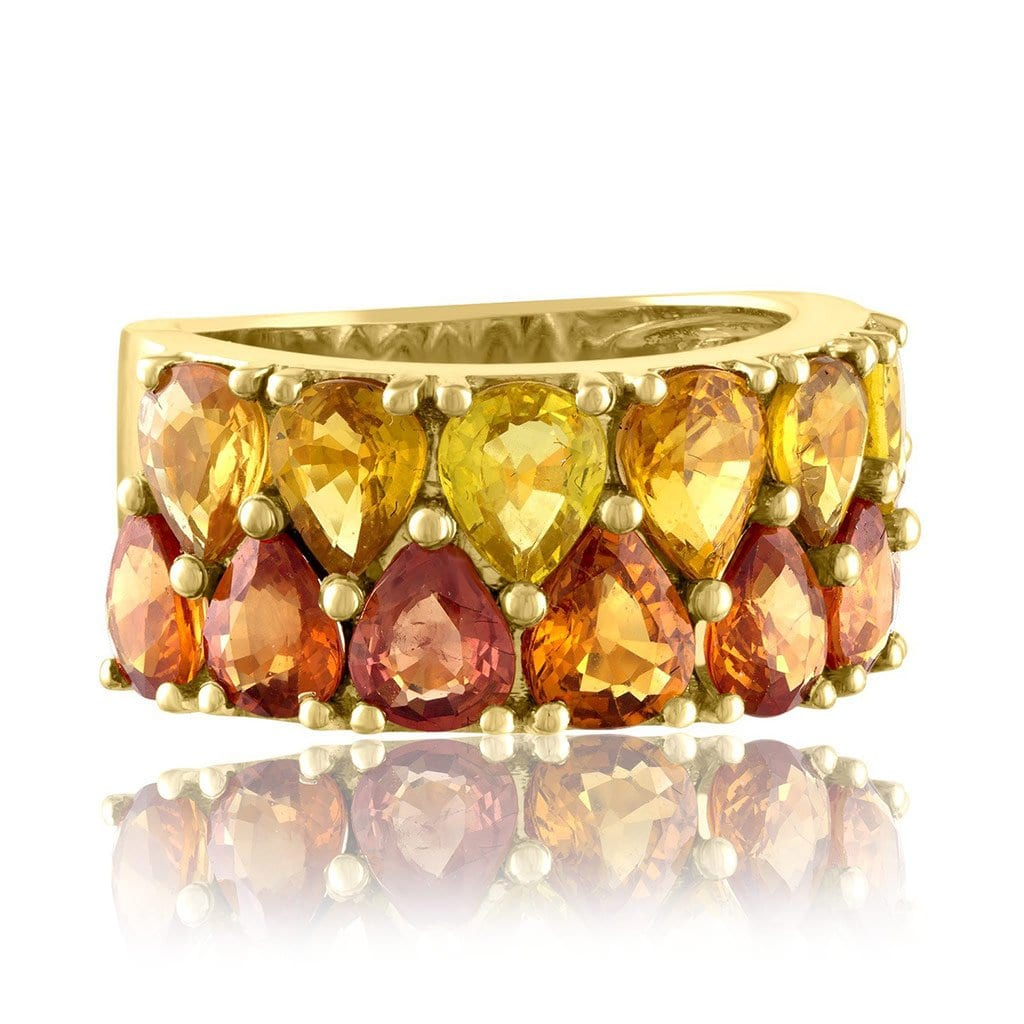 Vincents Fine Jewelry | Jane Kaye | Double Pear Band Ring
