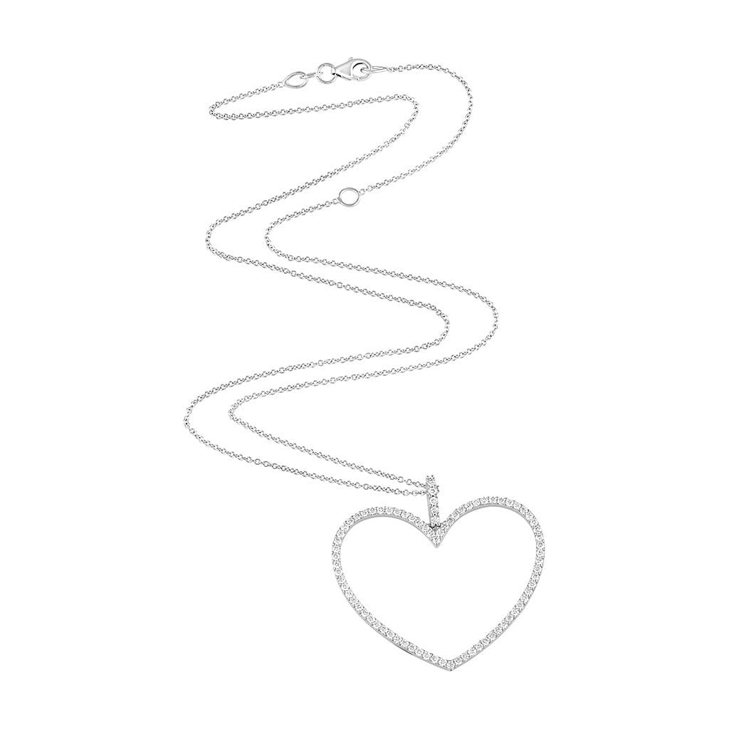 Vincents Fine Jewelry | Jane Kaye | Oversized Open Heart Necklace