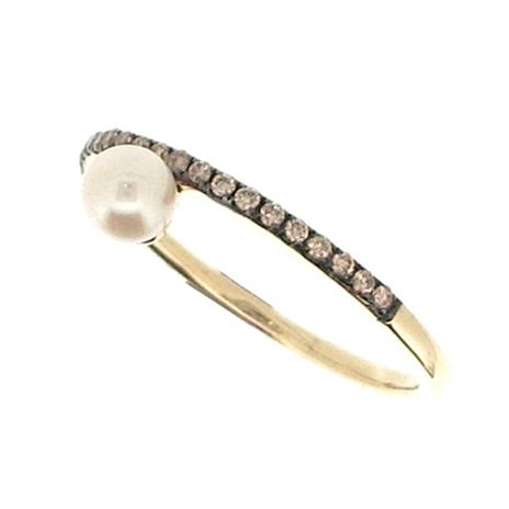 Vincents Fine Jewelry | Jane Kaye | Pearl Champagne Band Ring