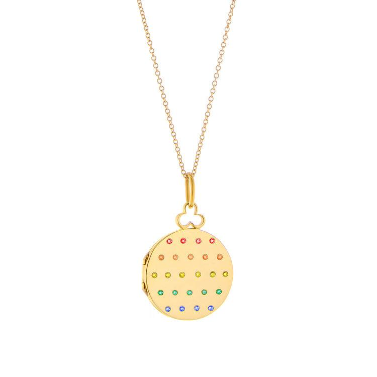 Devon Woodhill | Rainbow Jane Locket