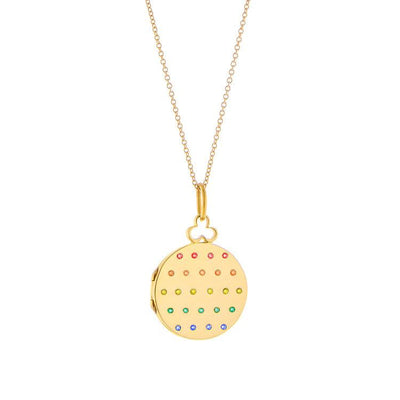 Vincents Fine Jewelry | Devon Woodhill | Rainbow Modern Locket, Jane
